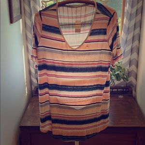 NWT Maurices 24/7 Striped Tee